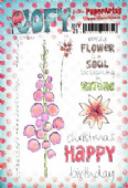 PaperArtsy JOFY Collection 26 - Flowers/Words  JOFY26